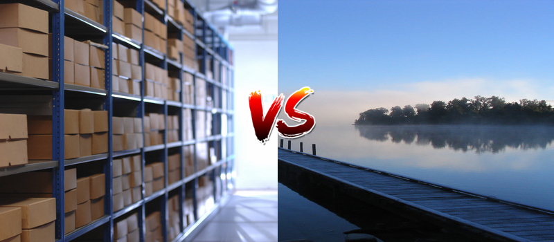 What's the difference between data lakes and data warehouses?