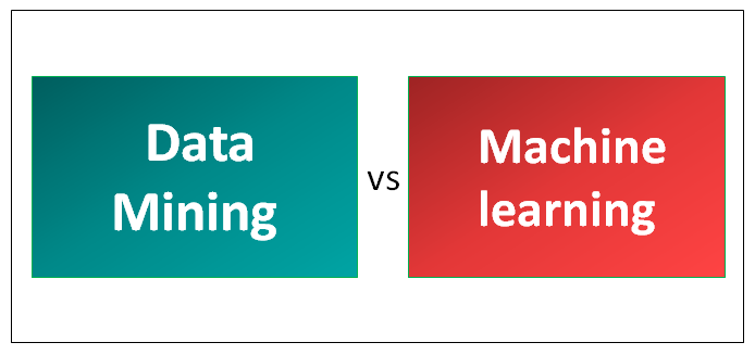 Relationship between Data Mining and Machine Learning
